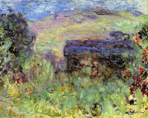 Claude Oscar Monet The House Seen Through the Roses - Hand Painted Oil Painting