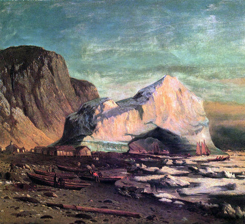 William Bradford The Ice Gate of Cape St. Michael - Hand Painted Oil Painting