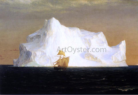Frederic Edwin Church The Iceberg - Hand Painted Oil Painting