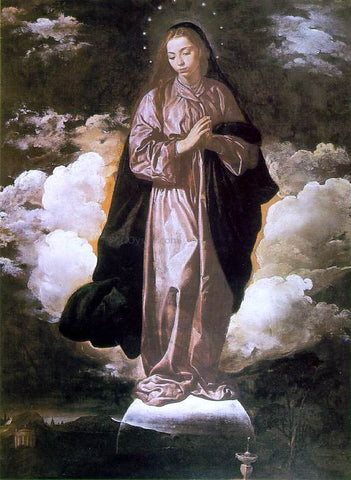 Diego Rodriguez De Silva Velazquez The Immaculate Conception - Hand Painted Oil Painting