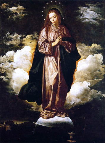 Diego Velazquez The Immaculate Conception - Hand Painted Oil Painting