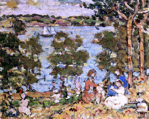 Maurice Prendergast The Inlet - Hand Painted Oil Painting