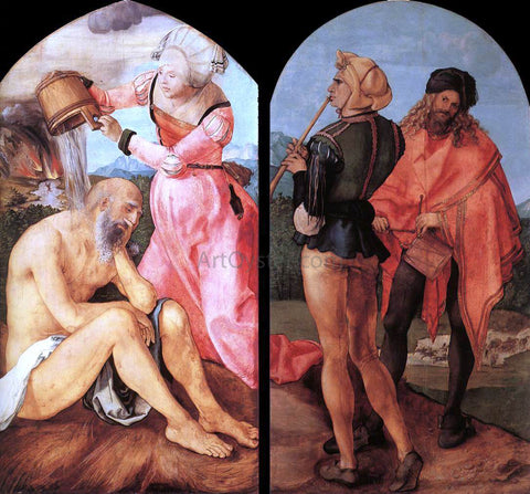 Albrecht Durer The Jabach Altarpiece - Hand Painted Oil Painting