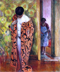 Henri Lebasque Japanese Robe - Hand Painted Oil Painting