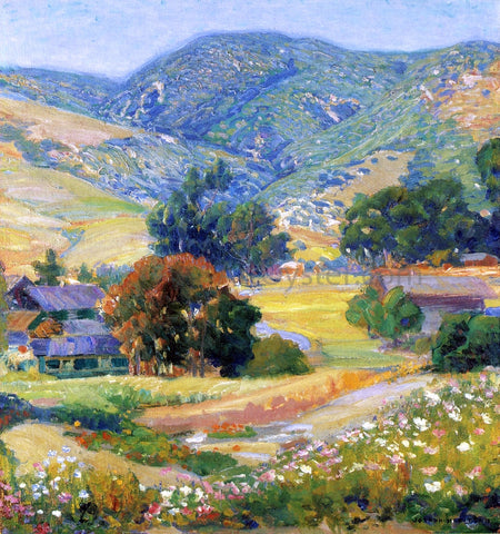 Joseph Kleitsch The Jeweled Hills - Hand Painted Oil Painting