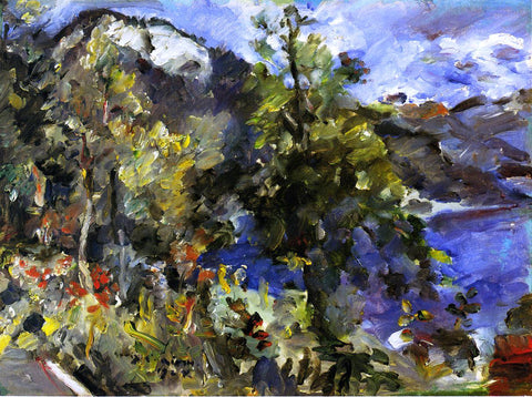 Lovis Corinth The Jochberg and the Walchensee - Hand Painted Oil Painting