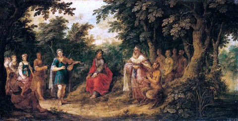 Abraham Govaerts The Judgement of Midas - Hand Painted Oil Painting