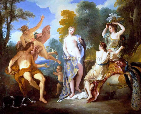 Jean-Francois De Troy The Judgement of Paris - Hand Painted Oil Painting