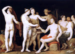Cornelis Van Haarlem The Judgment of Paris - Hand Painted Oil Painting