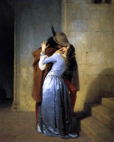 Francesco Hayez The Kiss - Hand Painted Oil Painting