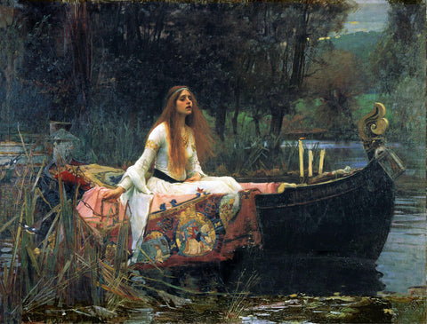 John William Waterhouse A Lady of Shalott - Hand Painted Oil Painting