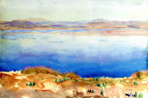 John Singer Sargent The Lake of Tiberias - Hand Painted Oil Painting