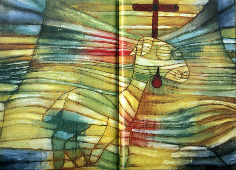 Paul Klee The Lamb - Hand Painted Oil Painting