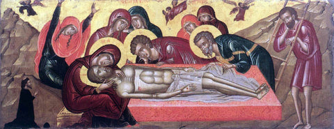 Unknown Painters Masters The Lamentation of Christ - Hand Painted Oil Painting
