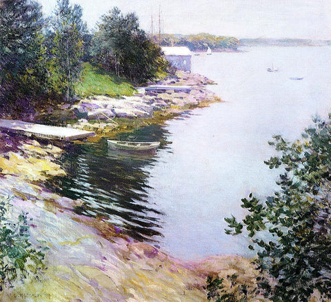 Willard Leroy Metcalf The Landing Place - Hand Painted Oil Painting