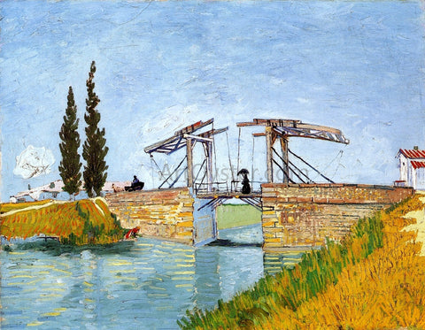 Vincent Van Gogh The Langlois Bridge - Hand Painted Oil Painting