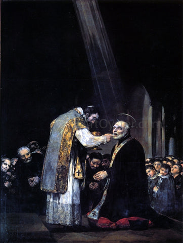 Francisco Jose de Goya Y Lucientes The Last Communion of St Joseph of Calasanz - Hand Painted Oil Painting