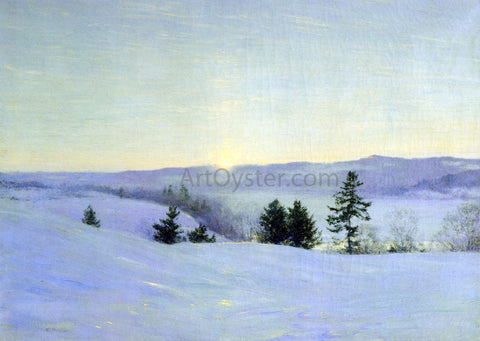 Walter Launt Palmer The Last Glrem - Hand Painted Oil Painting