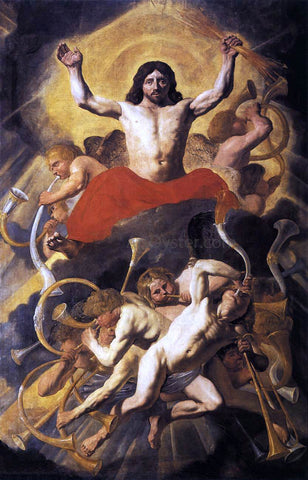 Jacob Van Campen The Last Judgment - Hand Painted Oil Painting