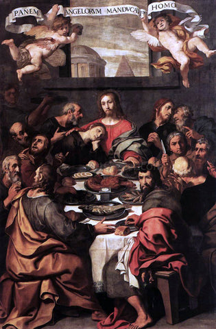 Daniele Crespi The Last Supper - Hand Painted Oil Painting