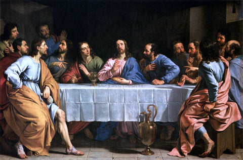 Philippe De Champaigne The Last Supper - Hand Painted Oil Painting
