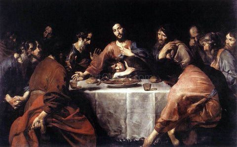 Valentin De boulogne The Last Supper - Hand Painted Oil Painting