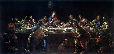 Leandro Bassano The Last Supper - Hand Painted Oil Painting