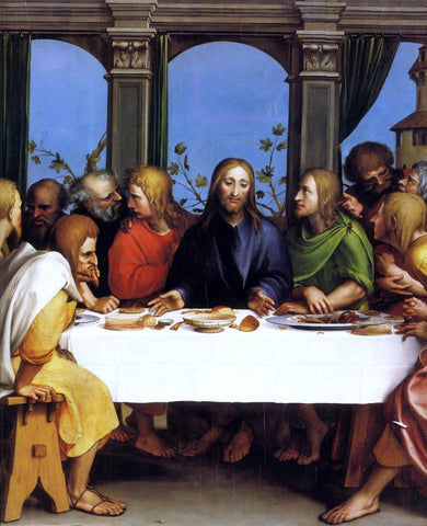 The Younger Hans Holbein The Last Supper - Hand Painted Oil Painting