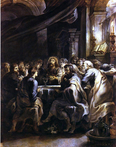 Peter Paul Rubens The Last Supper - Hand Painted Oil Painting