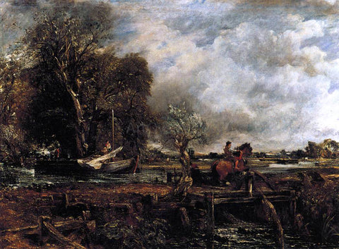 John Constable The Leaping Horse - Hand Painted Oil Painting