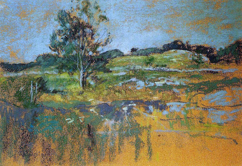 John Twachtman The Ledges - Hand Painted Oil Painting