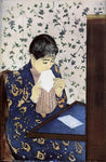 Mary Cassatt The Letter - Hand Painted Oil Painting