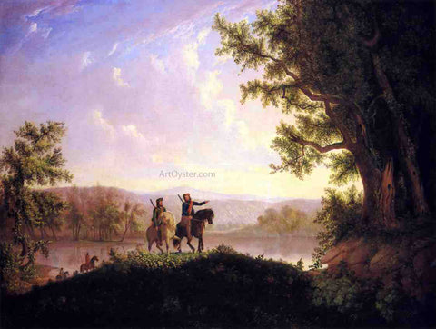Thomas Mickell Burnham The Lewis and Clark Expedition - Hand Painted Oil Painting