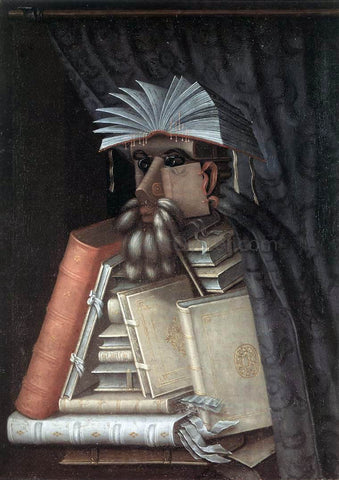 Giuseppe Arcimboldo The Librarian - Hand Painted Oil Painting