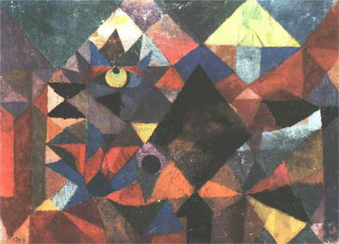 Paul Klee The Light and So Much Else - Hand Painted Oil Painting