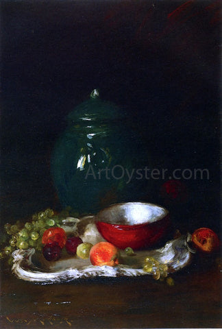 William Merritt Chase The LIttle Red Bowl - Hand Painted Oil Painting