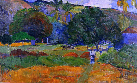 Paul Gauguin The Little Valley - Hand Painted Oil Painting