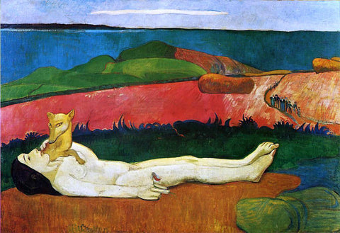 Paul Gauguin The Loss of Virginity (also known as The Awakening of Spring) - Hand Painted Oil Painting