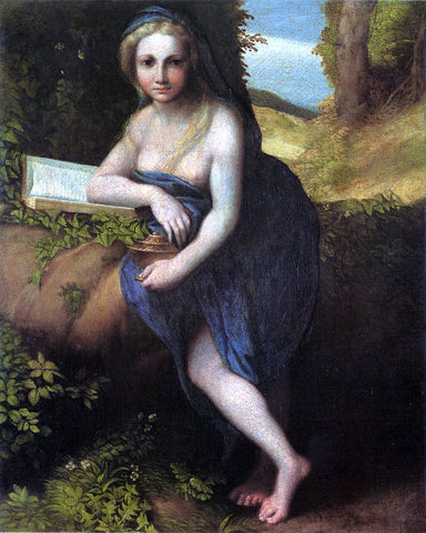 Correggio The Magdalene - Hand Painted Oil Painting