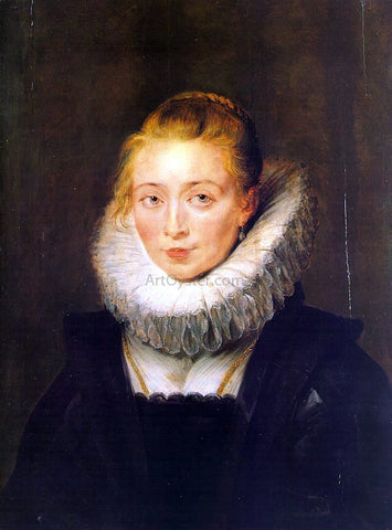 Peter Paul Rubens The Maid of Honor to the Infanta Isabella - Hand Painted Oil Painting