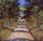 Claude Oscar Monet The Main Path at Giverny - Hand Painted Oil Painting
