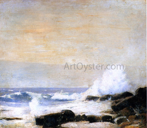 Emil Carlsen The Majestic Sea - Hand Painted Oil Painting