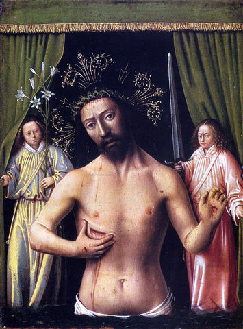 Petrus Christus The Man of Sorrows - Hand Painted Oil Painting