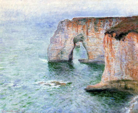 Claude Oscar Monet The Manneport Seen from the East - Hand Painted Oil Painting