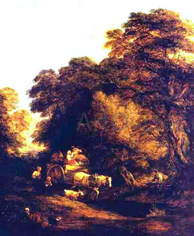 Thomas Gainsborough The Market Cart - Hand Painted Oil Painting