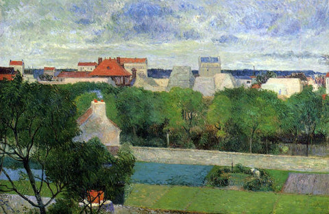 Paul Gauguin The Market Gardens of Vaugirard - Hand Painted Oil Painting