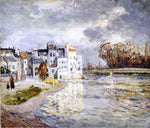 Maxime Maufra The Marne at Lagny - Hand Painted Oil Painting