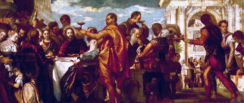 Paolo Veronese The Marriage at Cana - Hand Painted Oil Painting