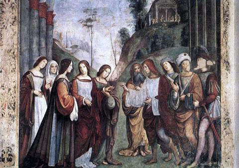 Francesco Francia The Marriage of St Cecily - Hand Painted Oil Painting