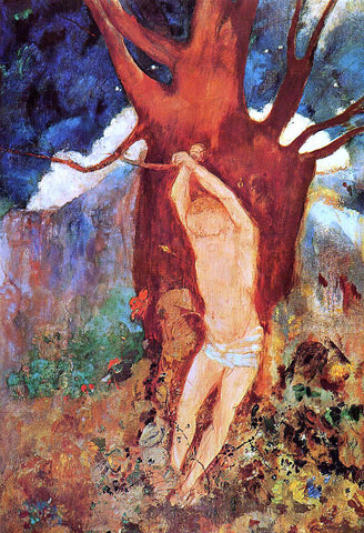 Odilon Redon The Martyrdom of Saint Sebastian - Hand Painted Oil Painting